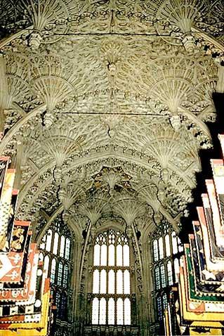 Westminster Abbey Henry VII Chapel fan-vaulting