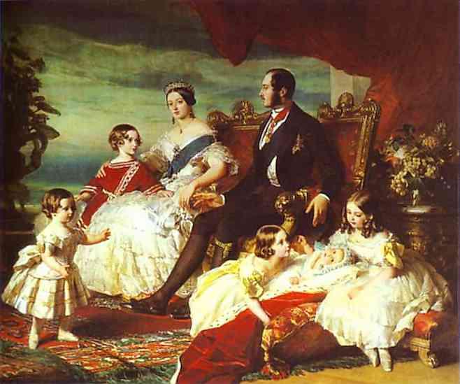 Winterhalter_The_Family_of_Queen_Victoria_1846