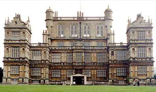 Wollaton House north front